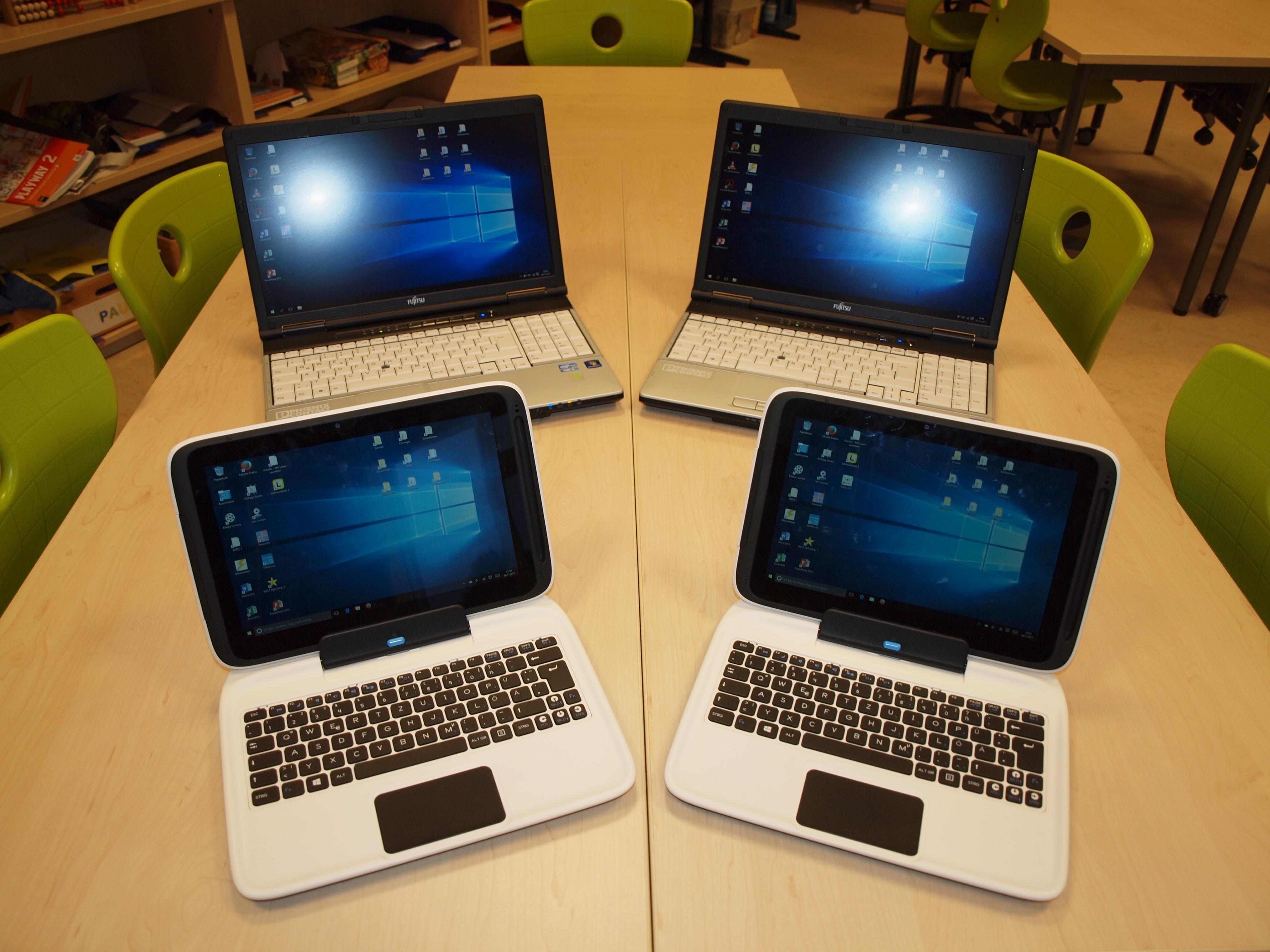 Tablets und Notebooks